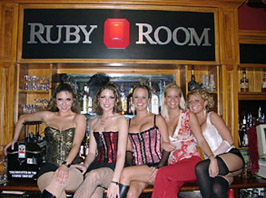 Ruby Room Grand opening in downtown Houston Texas