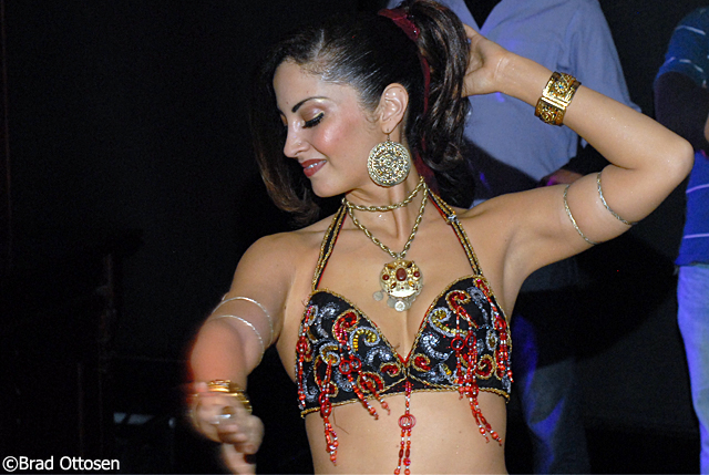 Cafe Europe belly dancing